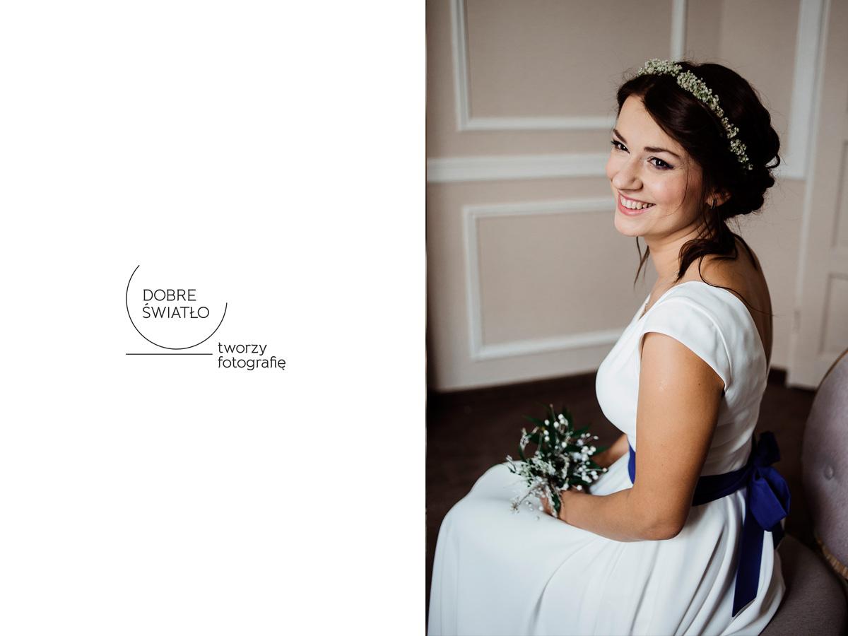 wesele w hotelu wodnik we wroclawiu - portret panny mlodej
