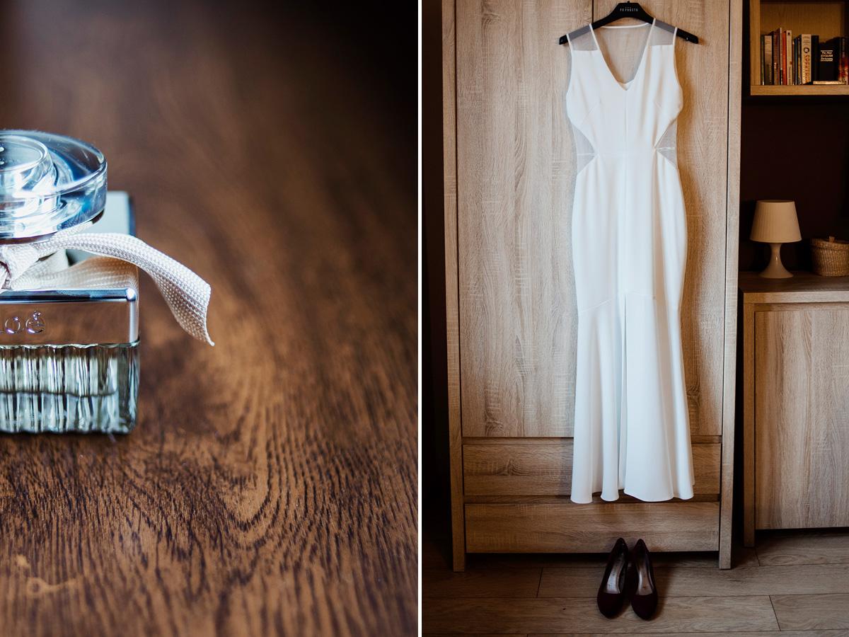 suknia po prostu - nowoczesna minimalistyczna suknia slubna