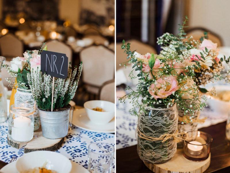 wesele - spichlerz galowice - naturalne dekoracje slubne