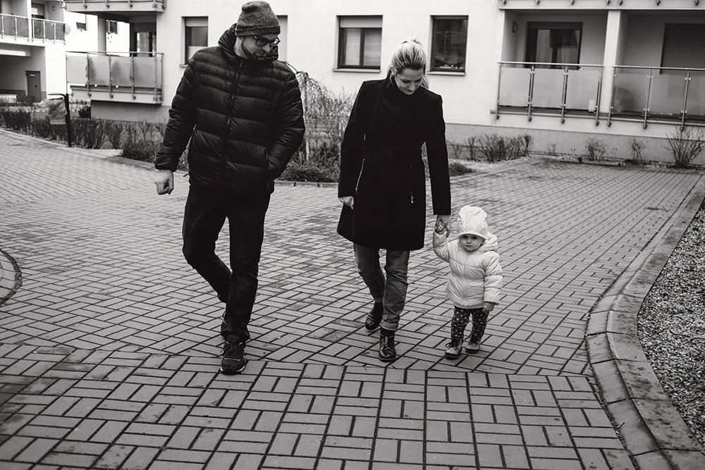 Sesja rodzinna w domu we Wrocławiu