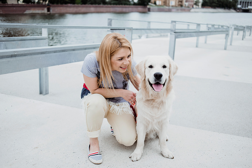sesja fotograficzna z psem we Wrocławiu