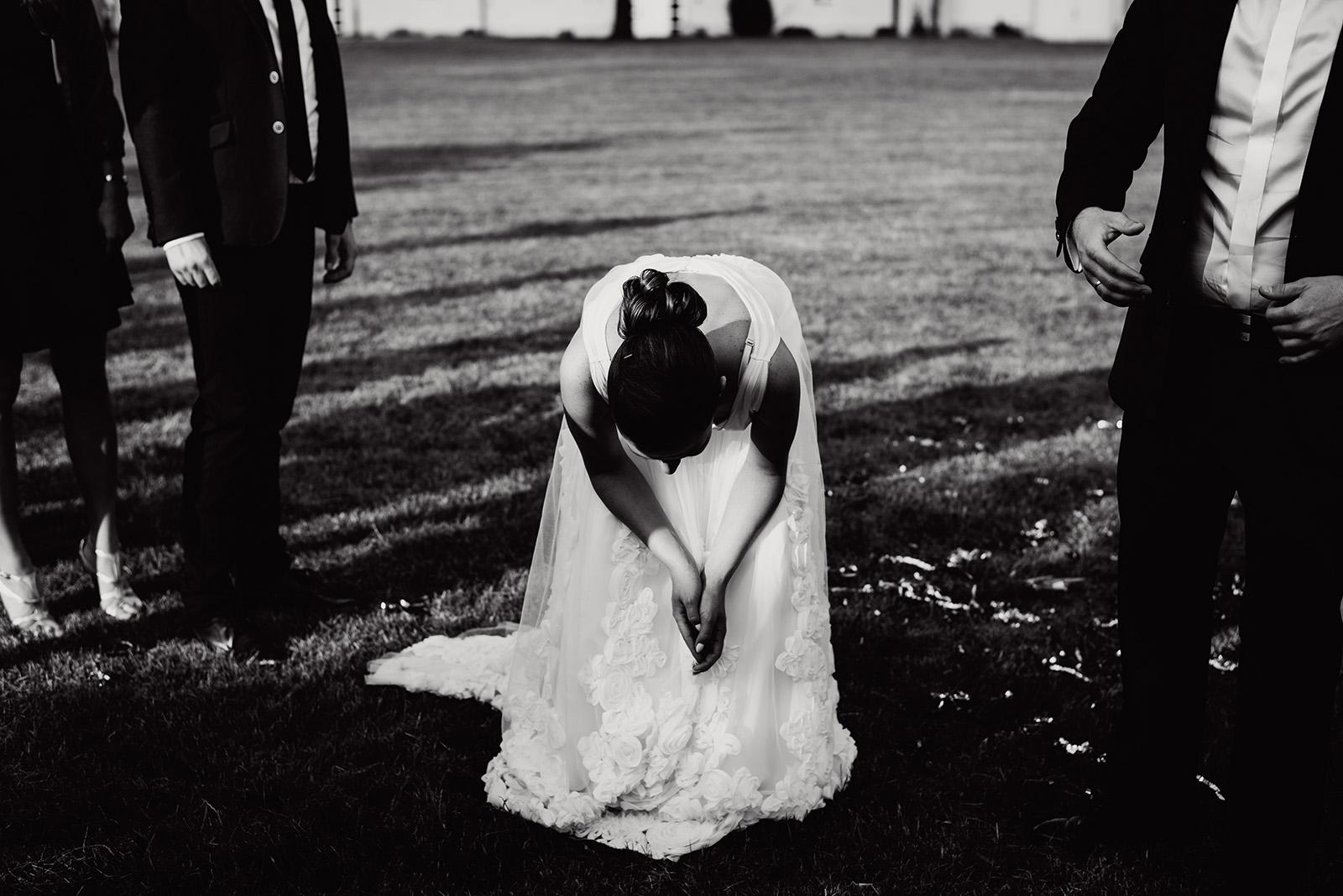 wesele w krzyzowej - panna mloda
