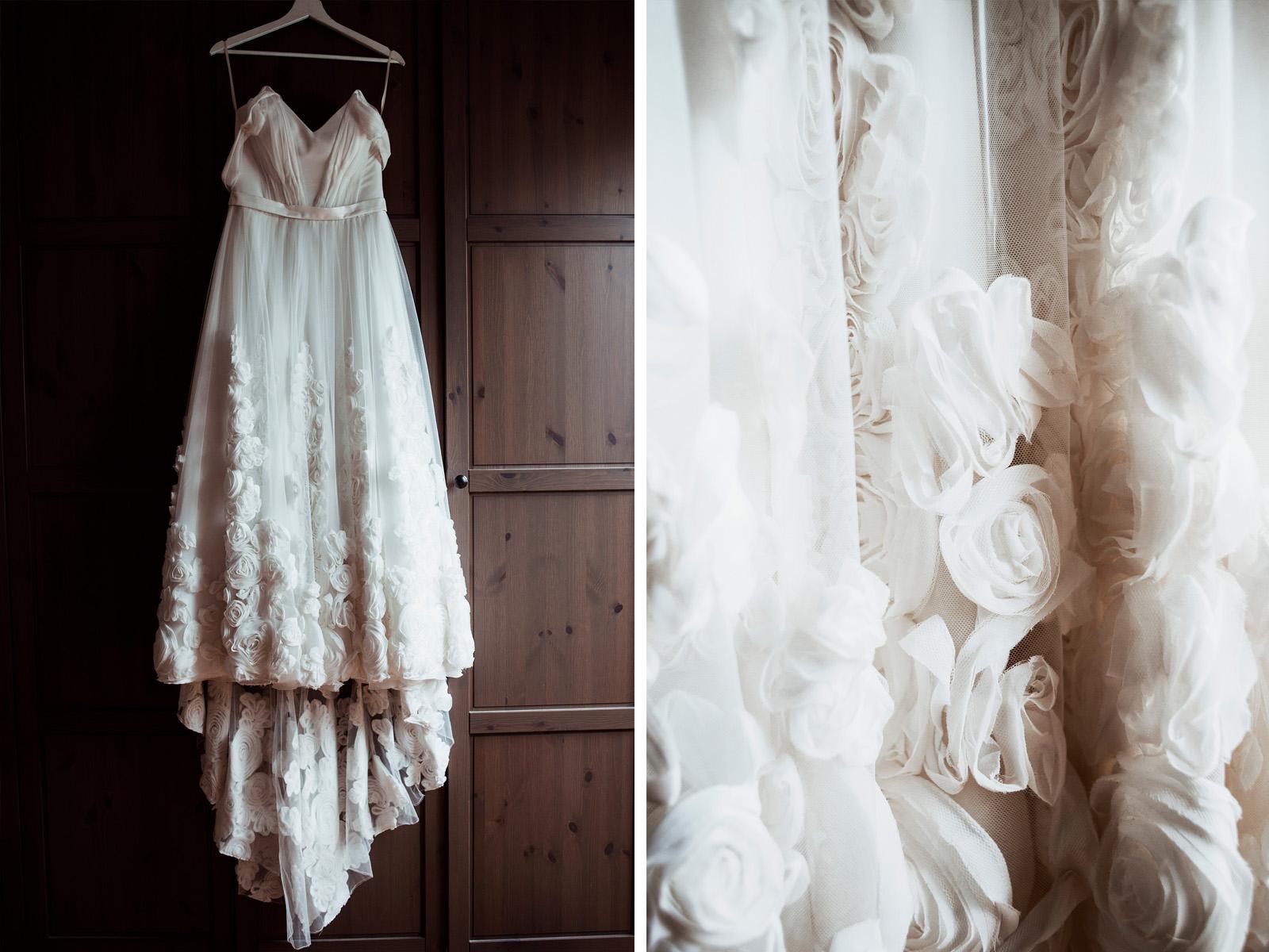 naturalna fotografia slubna - suknia slubna anne-marie
