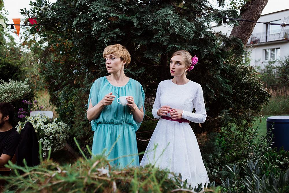 naturalna fotografia slubna - wesele w ogrodzie - slow wedding