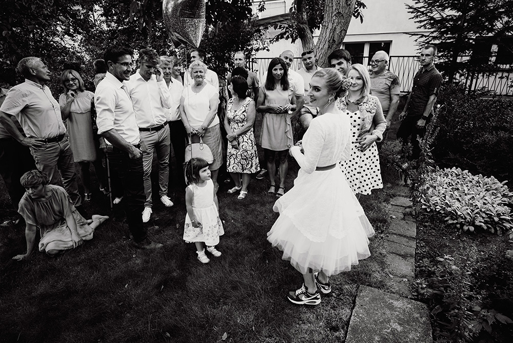 naturalny fototoreportaz slubu we wroclawiu - wesele w ogrodzie - slow wedding