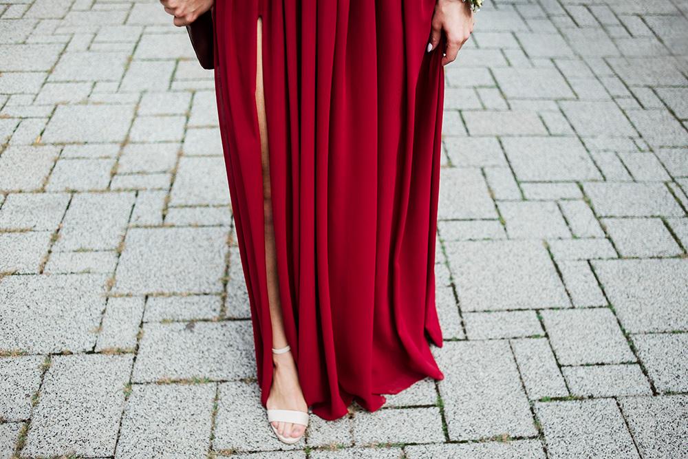 suknia swiadkowej - naturalna fotografia