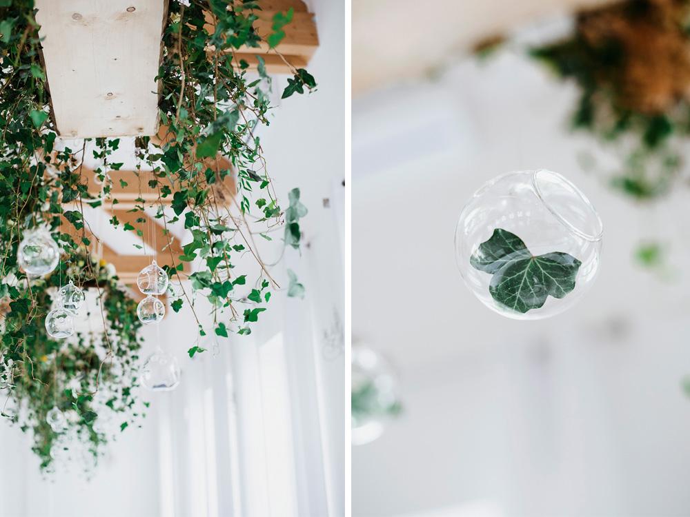 wesele w dworku pilawski - podwieszenia kwiatowe na wesele - slub w stylu botanicznym