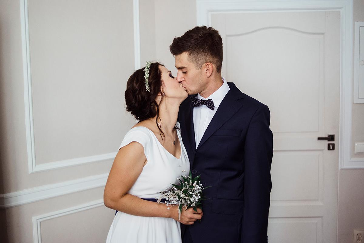 wesele w hotelu wodnik we wroclawiu - portret pary mlodej