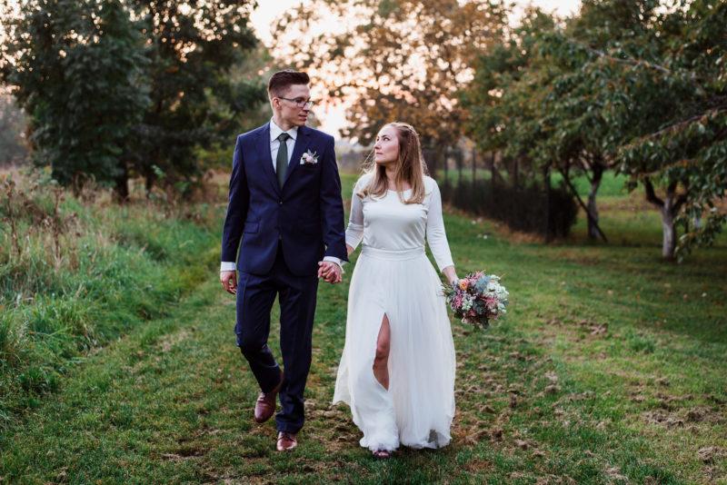 wesele - spichlerz galowice - sesja zdjeciowa - suknia sylwia kopczynska