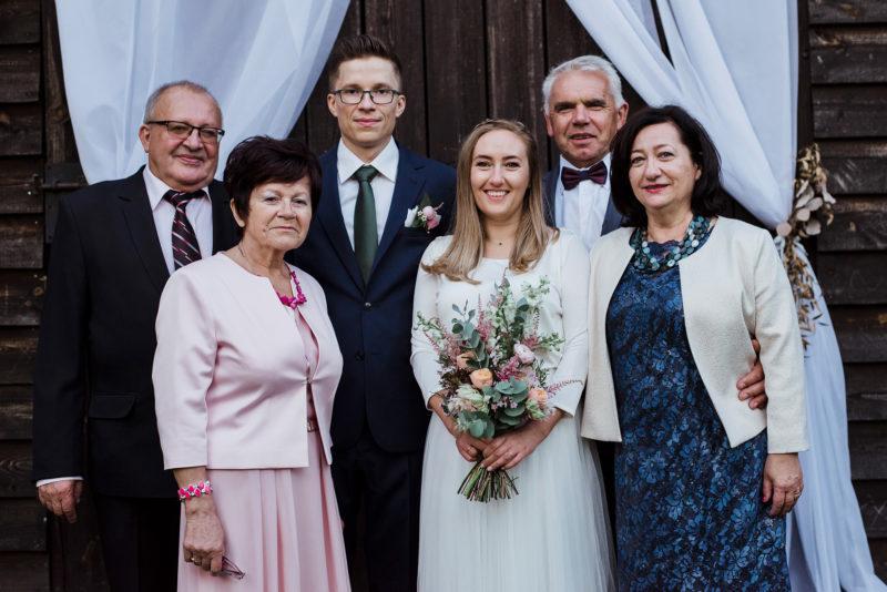 wesele - spichlerz galowice - zdjecia rodzinne