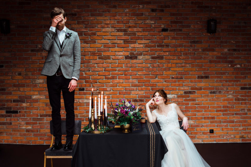 wesele w restauracji warsztat - rockowy slub