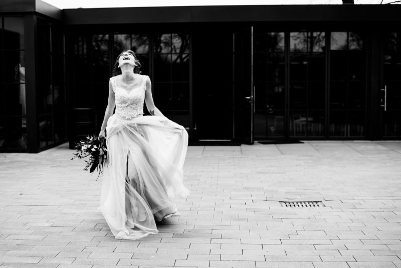 suknia slubna sylwii kopczynskiej - industrialny slub - warsztat wroclaw